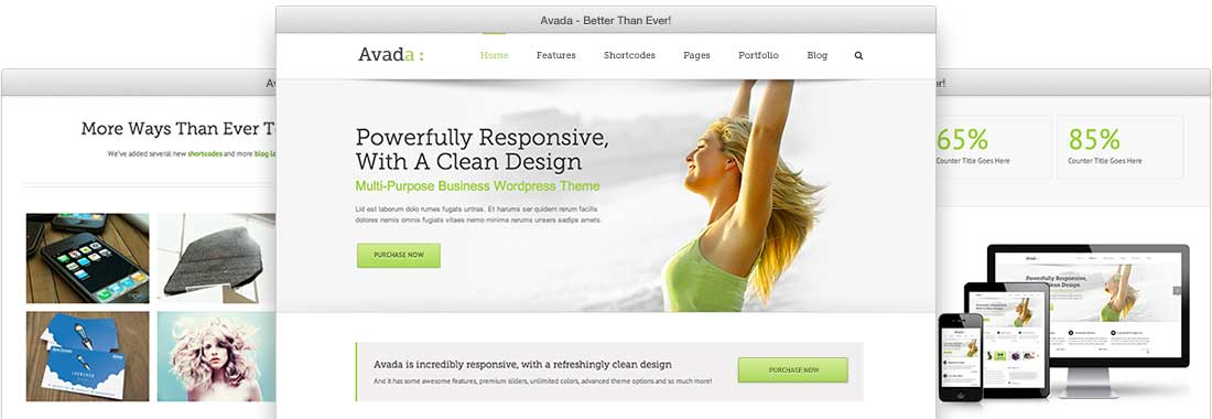 We create beautiful websites like this!